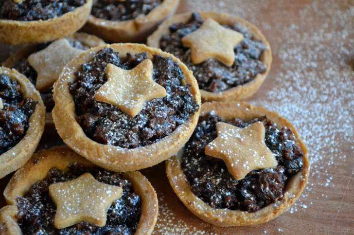 Saintly Mince Pies