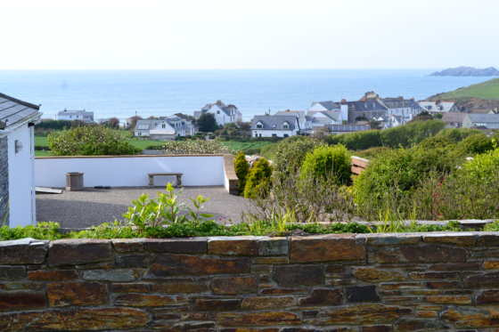 View from the Cottage in Cornwall